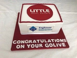 Corporate Cake Congratulations