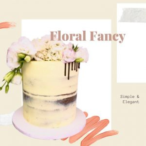 Floral Fancy Every Day Cake