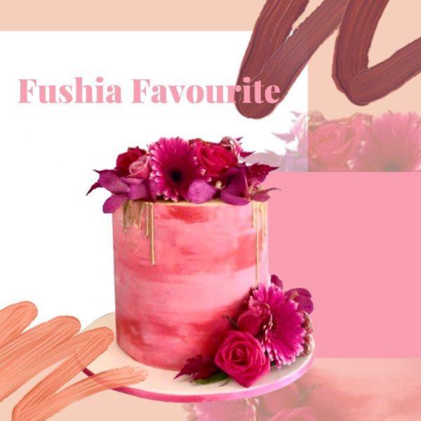 Fuschia Favourite Every Day Cake