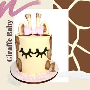 Giraffe Baby Every Day Cake