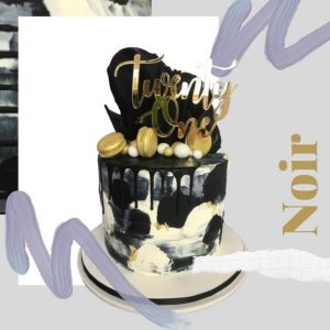 Noir Every Day Cake