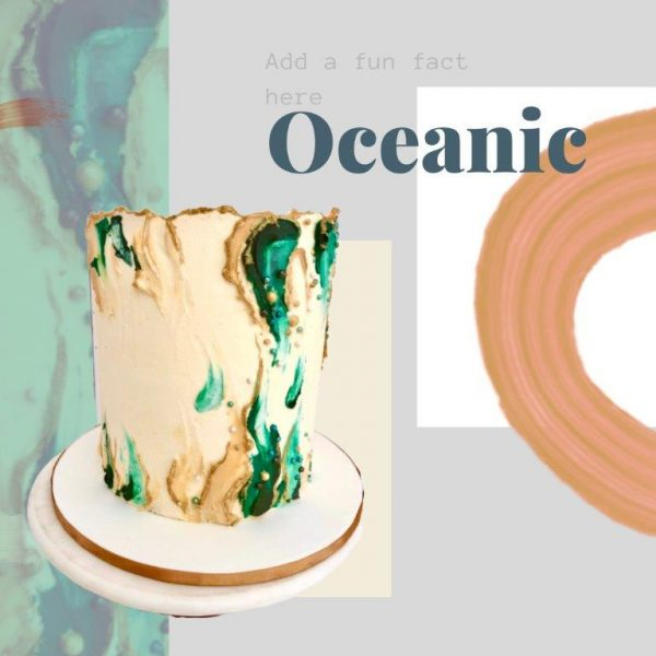Oceanic Every Day Cake