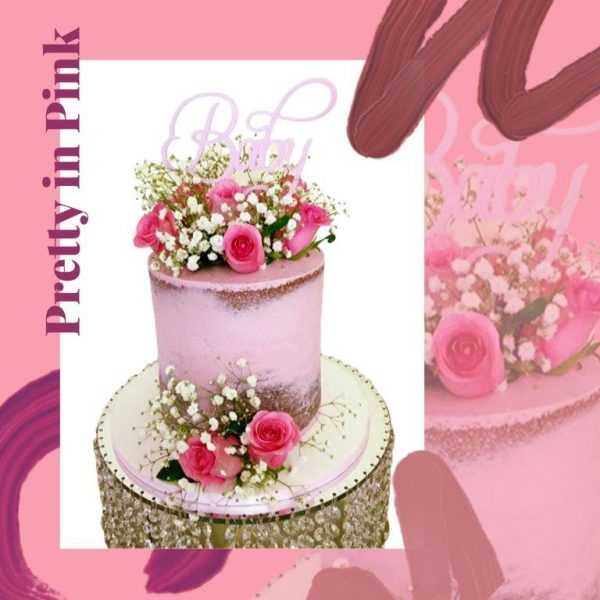 Pretty in Pink Every Day Cake