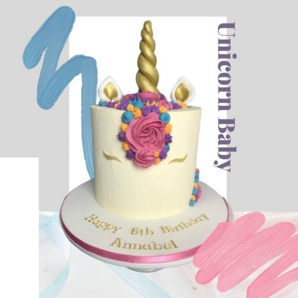 Unicorn Baby Every Day Cake